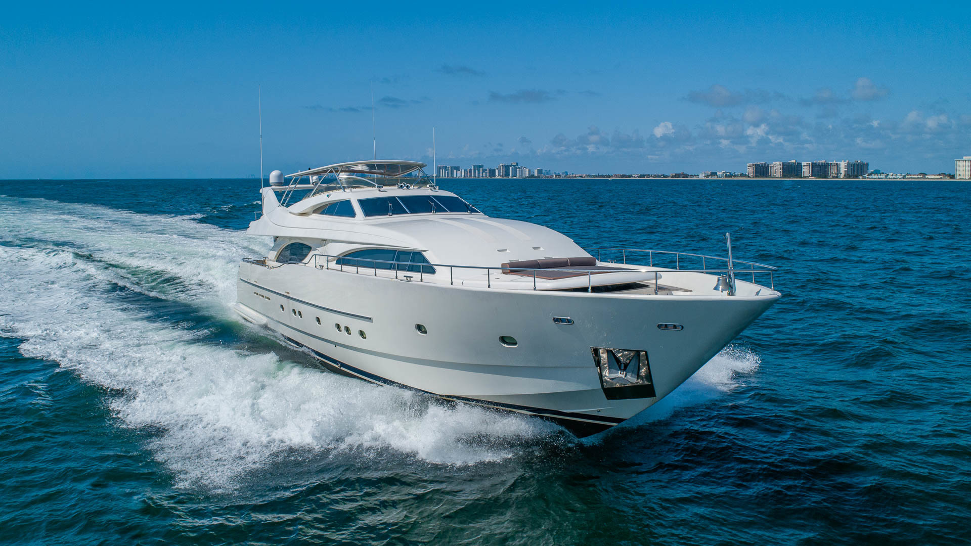 "2001 Ferretti Yachts 94'  ""Sea Spray"""