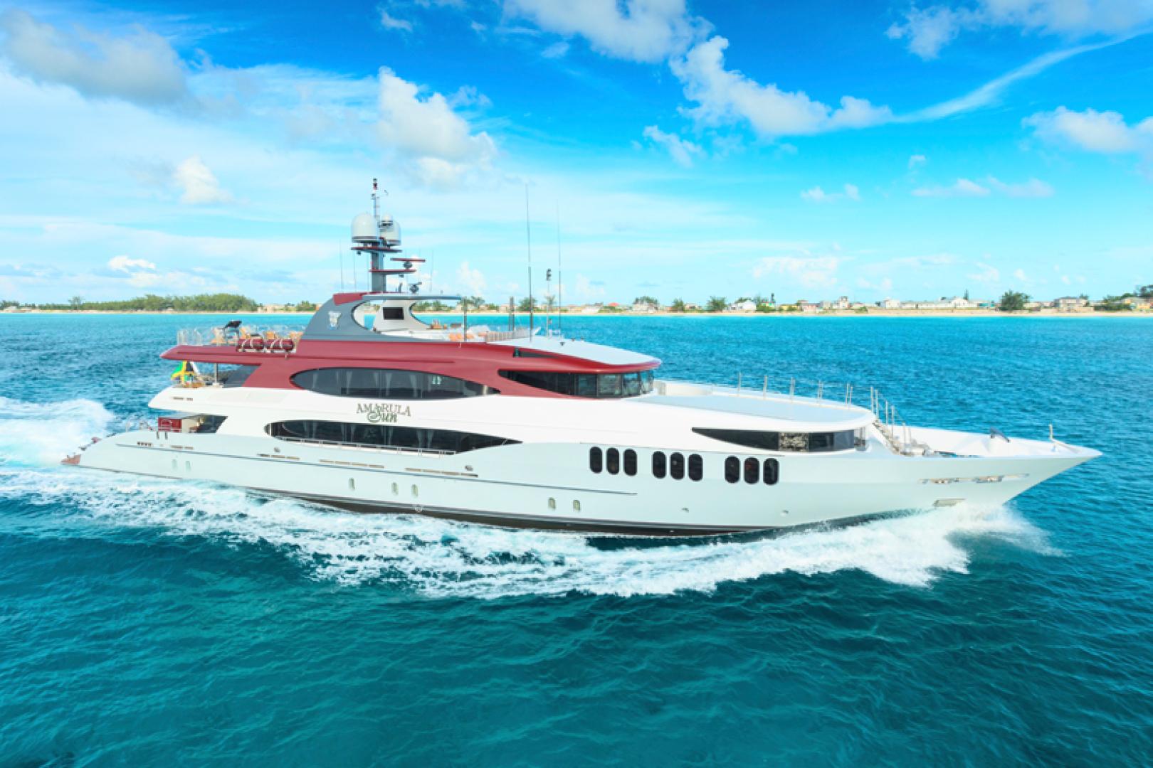 """2008 Trinity Yachts 164' 164 Tri-deck Motor Yacht """"Amarula Sun"""""""