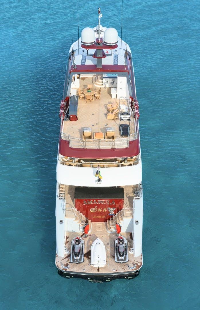 2008 Trinity Yachts 164' 164 Tri-deck Motor Yacht Amarula Sun   Picture 4 of 60