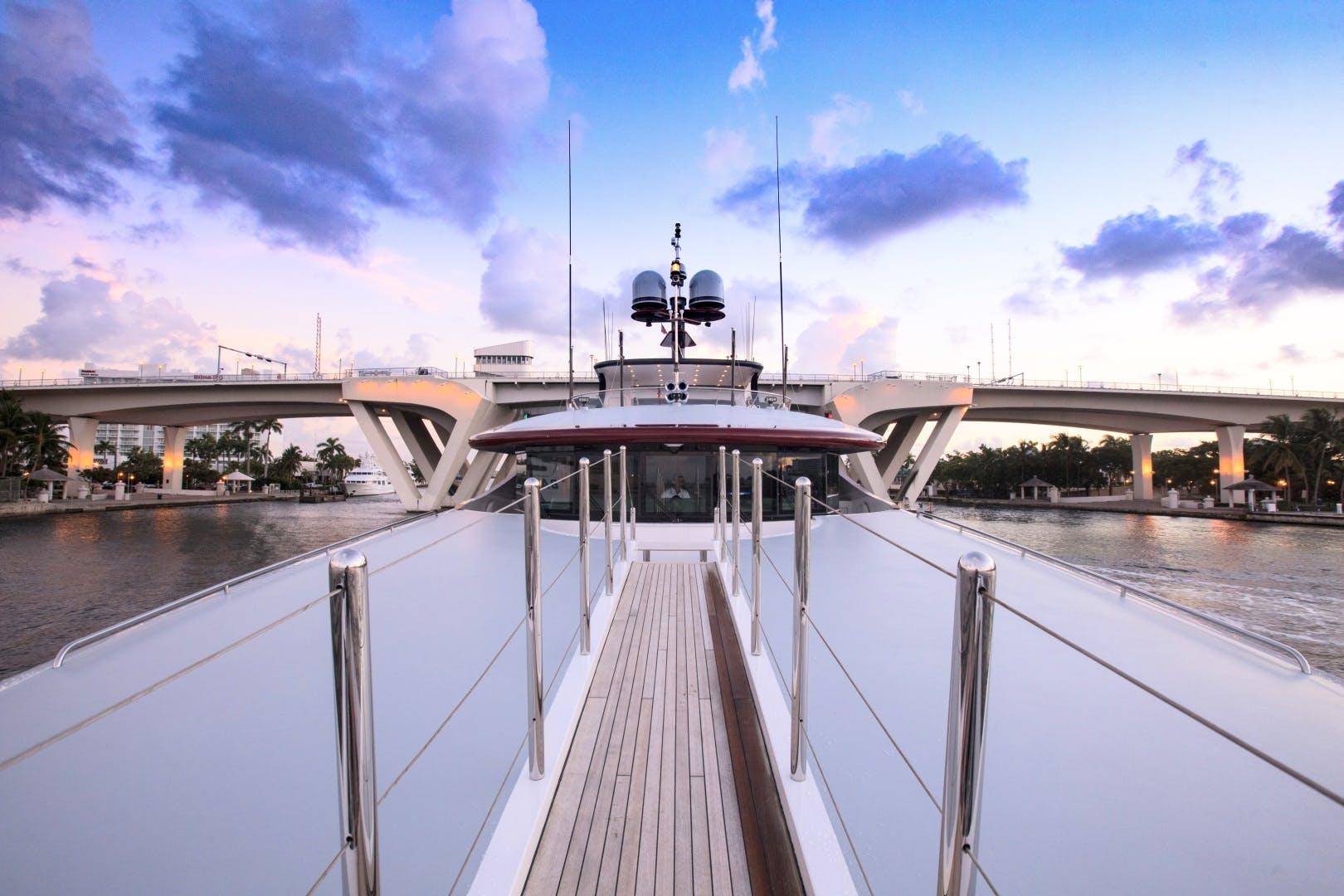 2008 Trinity Yachts 164' 164 Tri-deck Motor Yacht Amarula Sun   Picture 2 of 60
