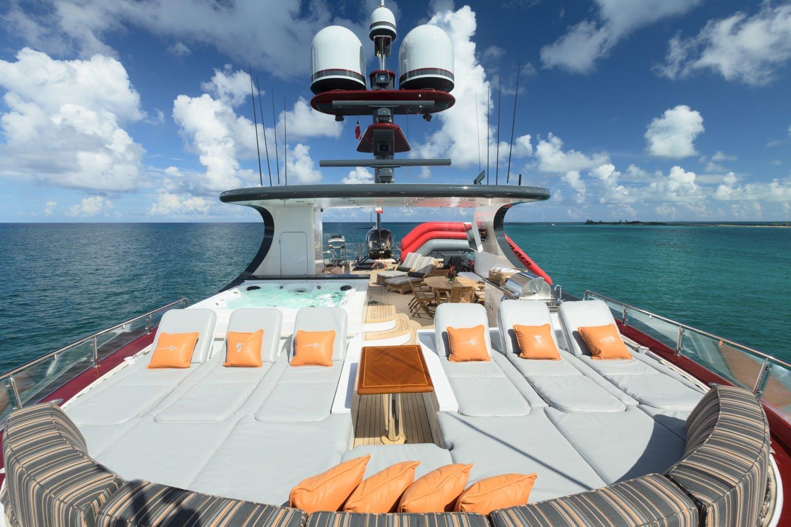 2008 Trinity Yachts 164' 164 Tri-deck Motor Yacht Amarula Sun   Picture 8 of 60
