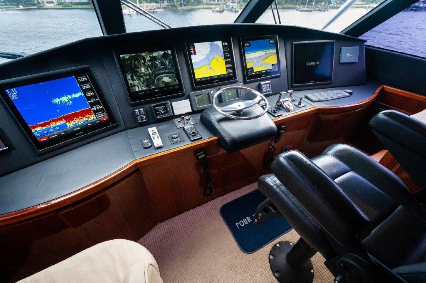 2014 Viking 66' 66 Enclosed Bridge Pour Intentions | Picture 1 of 67