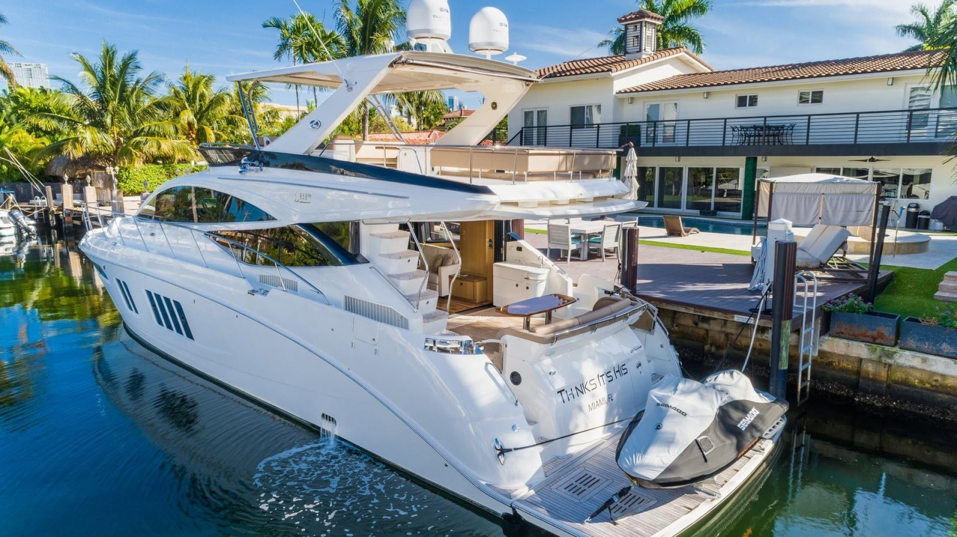 2016 Sea Ray 65' L650 Flybridge Thinks Its His | Picture 4 of 22