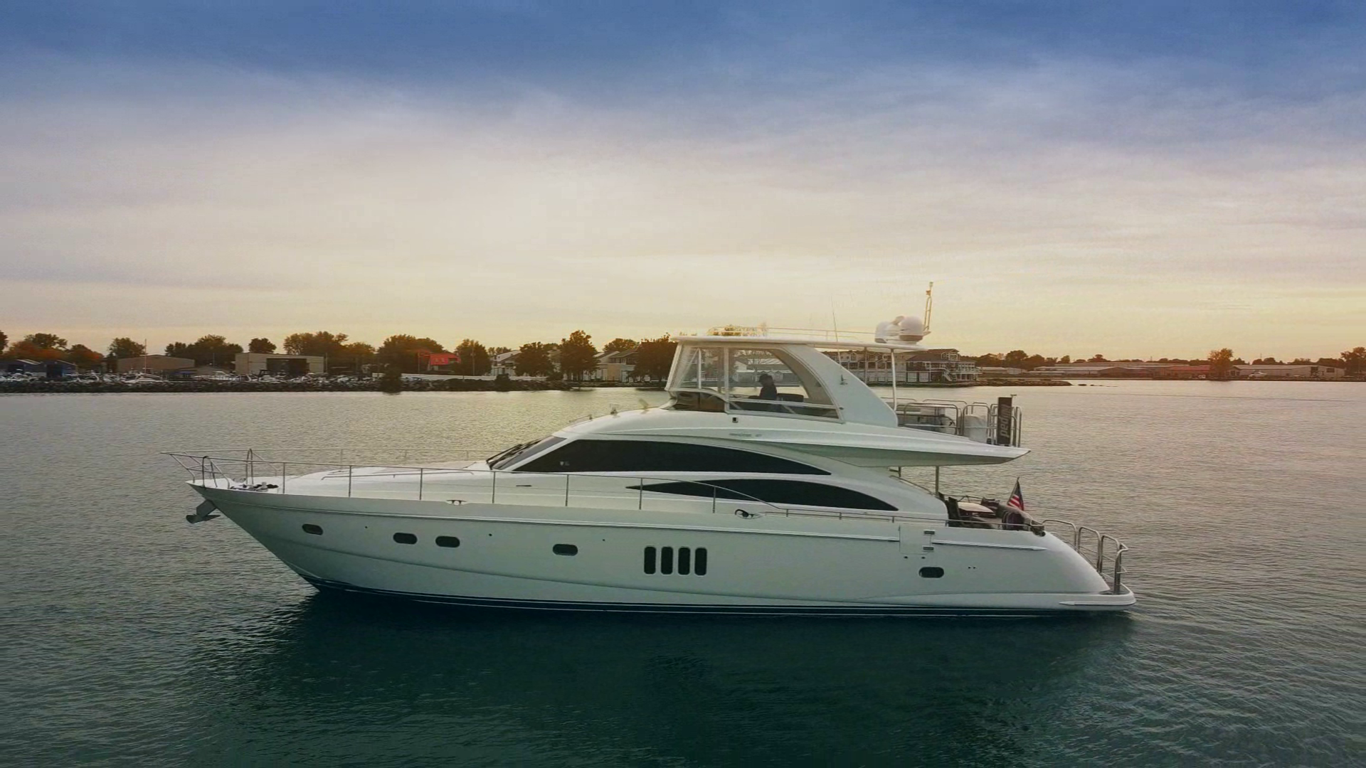 "2007 Princess 67' Flybridge Motor Yacht ""Hall Force One"""