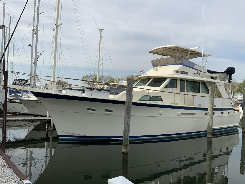 53' Hatteras 1987 Yacht Fish Shelanu