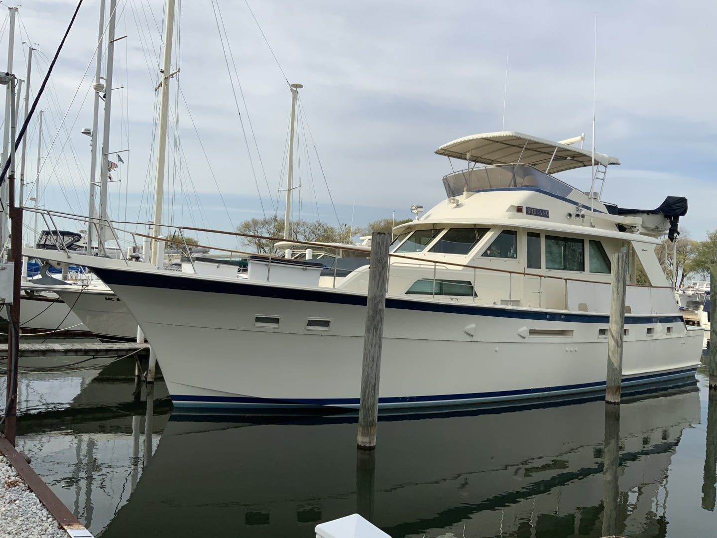 1987 Hatteras 53' Yacht Fish Shelanu | Picture 1 of 48