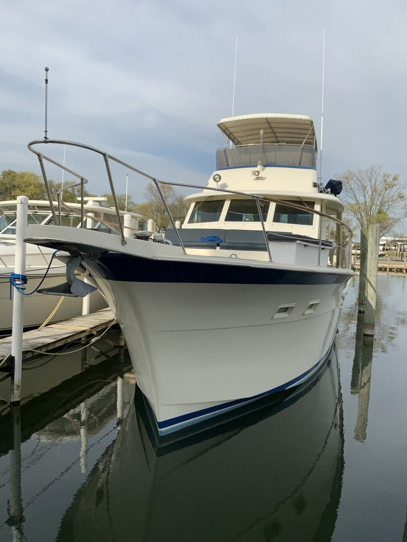 1987 Hatteras 53' Yacht Fish Shelanu | Picture 2 of 48