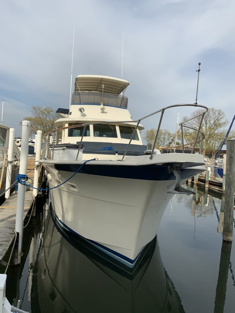 1987 Hatteras 53' Yacht Fish Shelanu | Picture 4 of 48