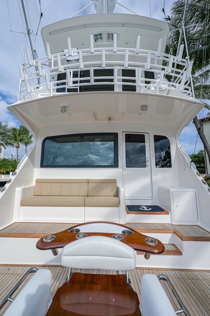 2007 Viking 64' Enclosed Bridge Scoped Out   Picture 7 of 72