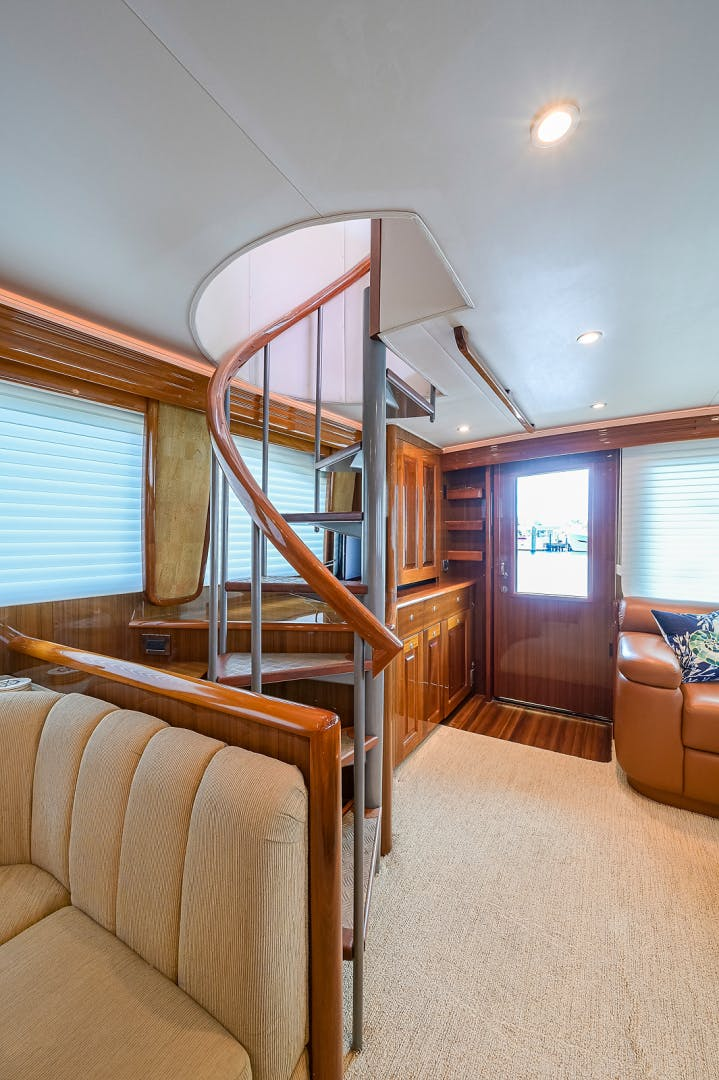 2007 Viking 64' Enclosed Bridge Scoped Out   Picture 6 of 72
