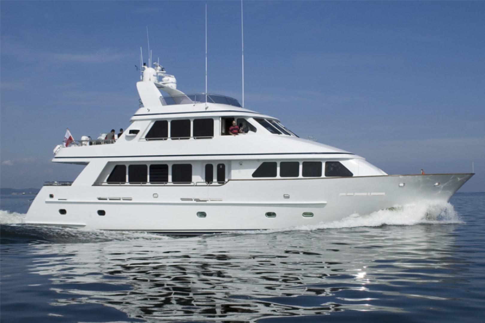 """2005 Conrad Shipyard 88' 88 Motor Yacht """"Chillin"""""""