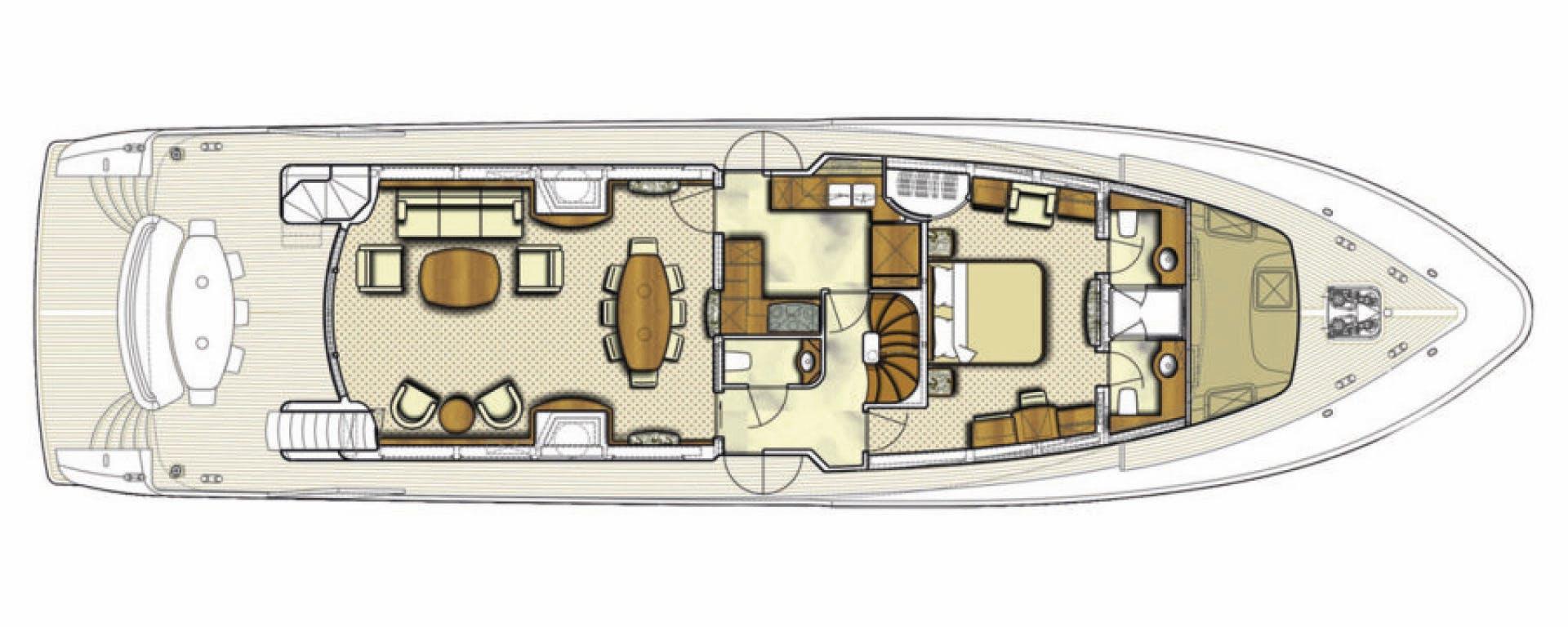 2005 Conrad Shipyard 88' 88 Motor Yacht Chillin | Picture 8 of 81