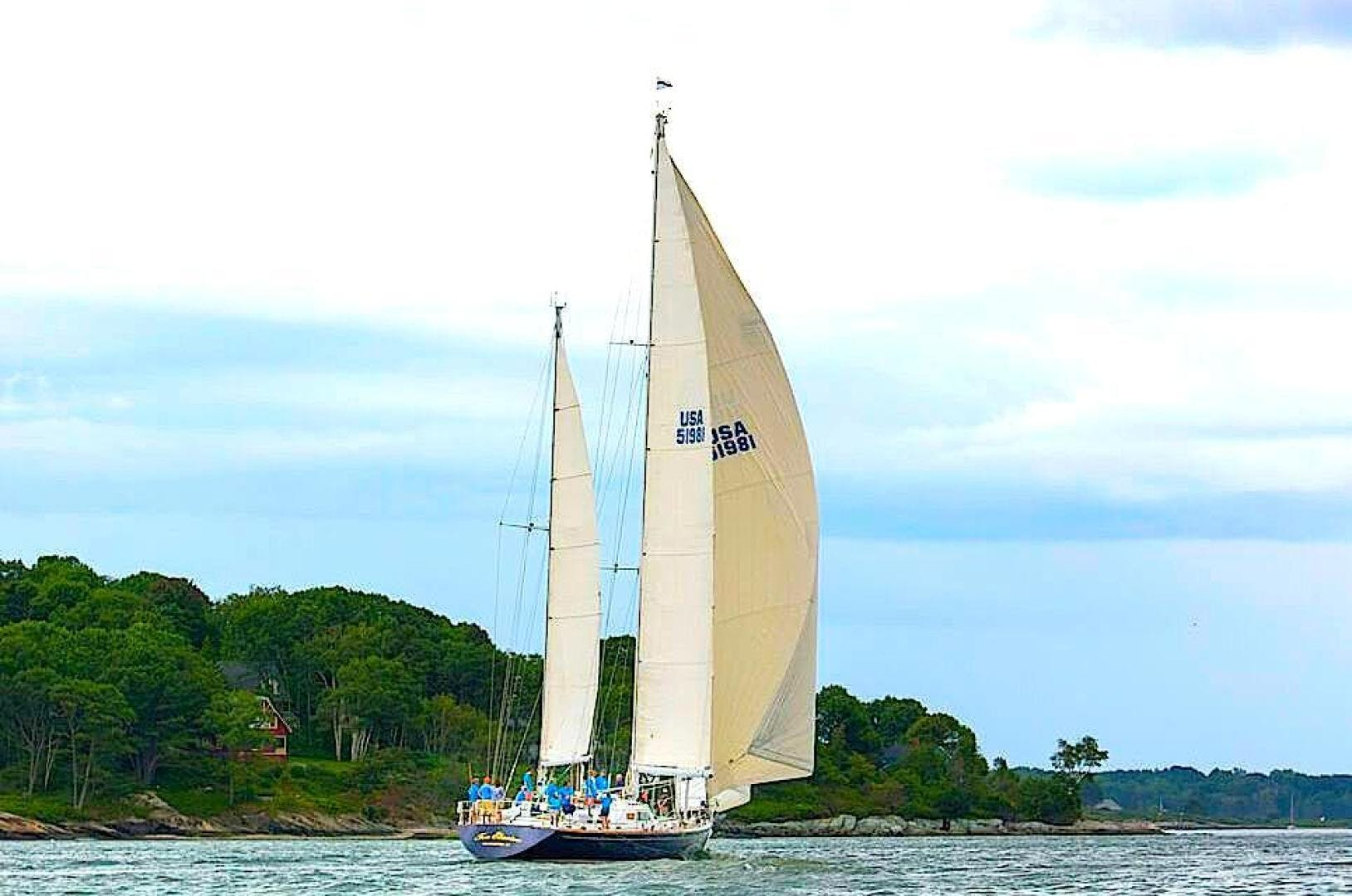 1985 Southern Ocean 80' Ketch Too Elusive | Picture 8 of 16