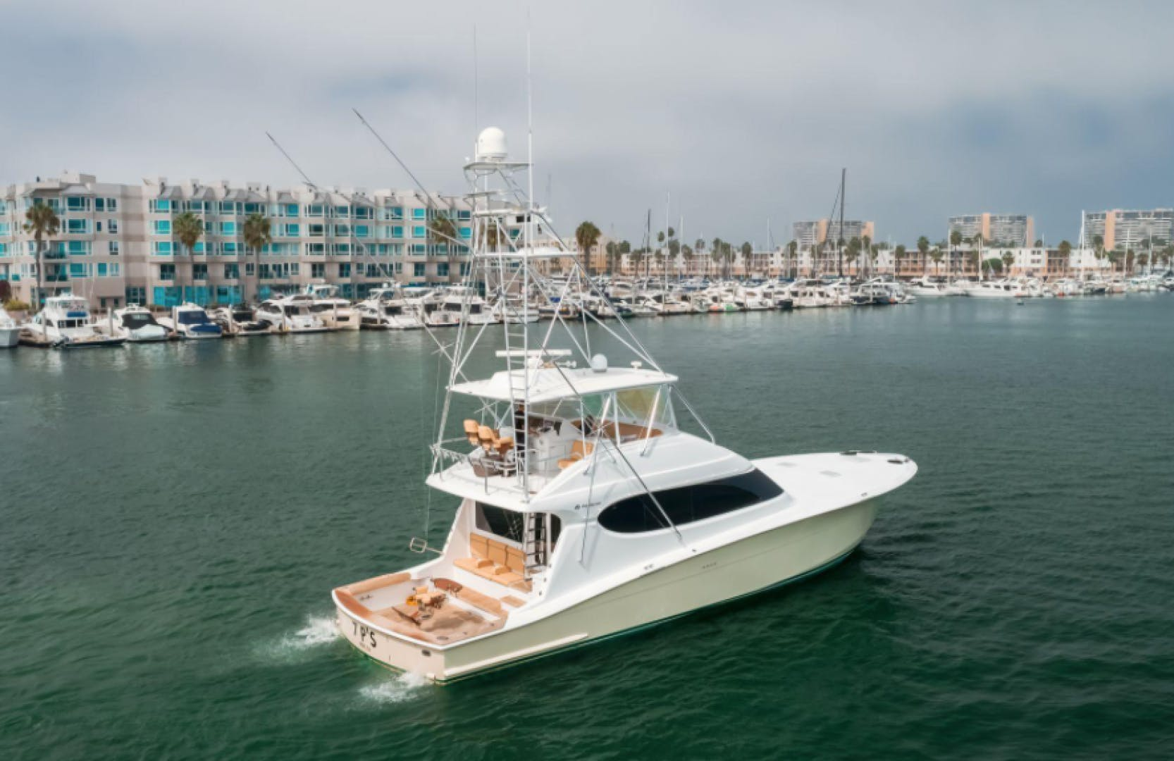 2006 Hatteras 64' Sport Fisher 7 P'S | Picture 2 of 30