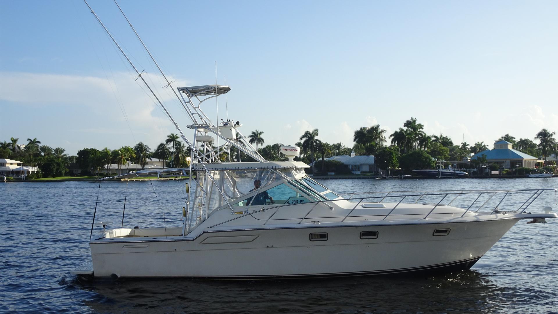 """1985 Tiara Yachts 36'  """"No Cents"""""""