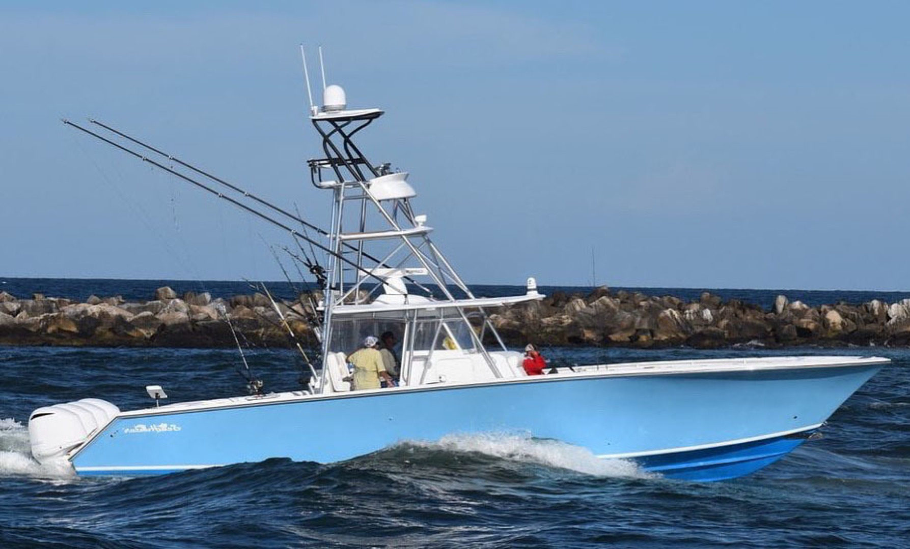 45' SeaHunter 2014  HOOK'EM UP