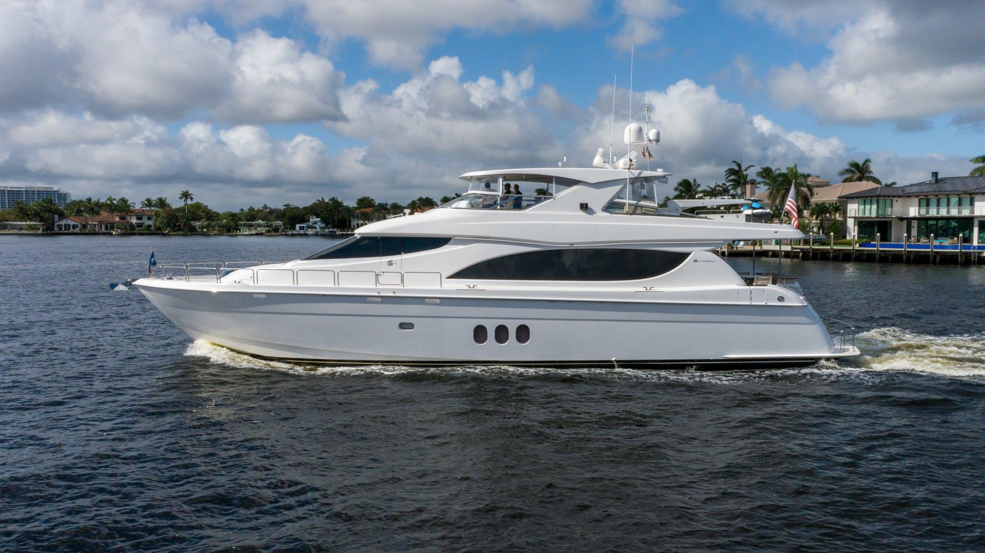 2012 Hatteras 80' 80 Motor Yacht Khaleesi | Picture 3 of 31