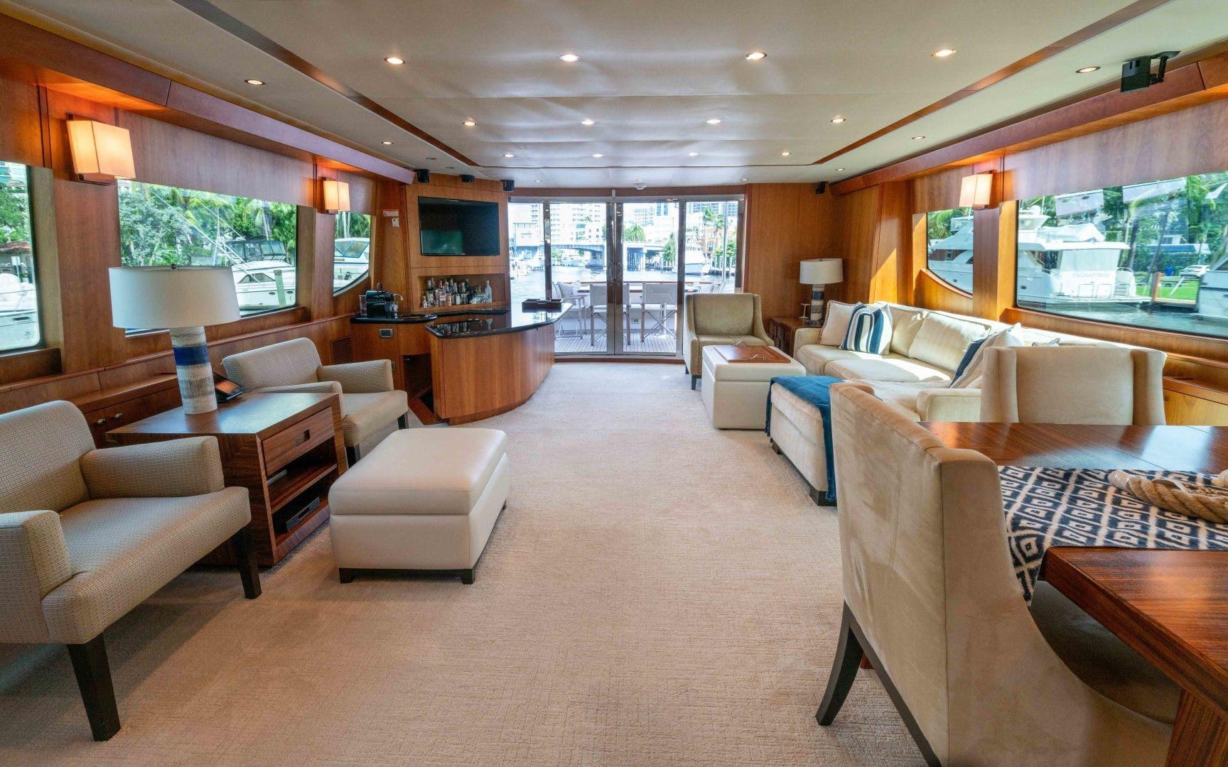 2012 Hatteras 80' 80 Motor Yacht Khaleesi | Picture 6 of 31