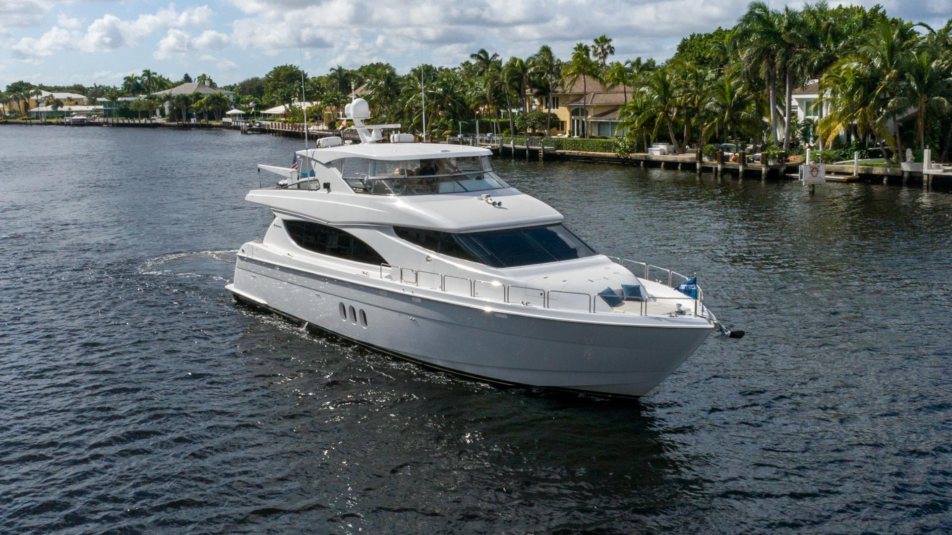 """2012 Hatteras 80' 80 Motor Yacht """"Khaleesi"""""""