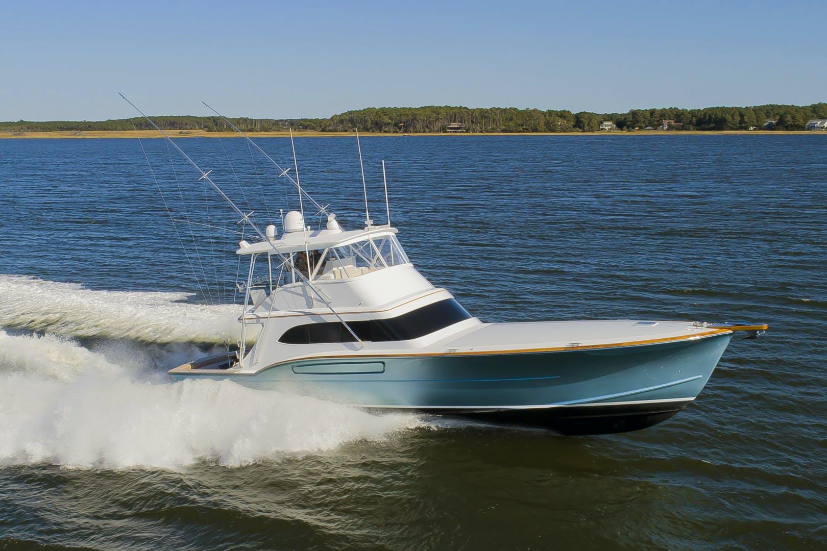 2005 Paul Mann 62' 62 Custom Carolina Sportfisherman Fin Print | Picture 3 of 69