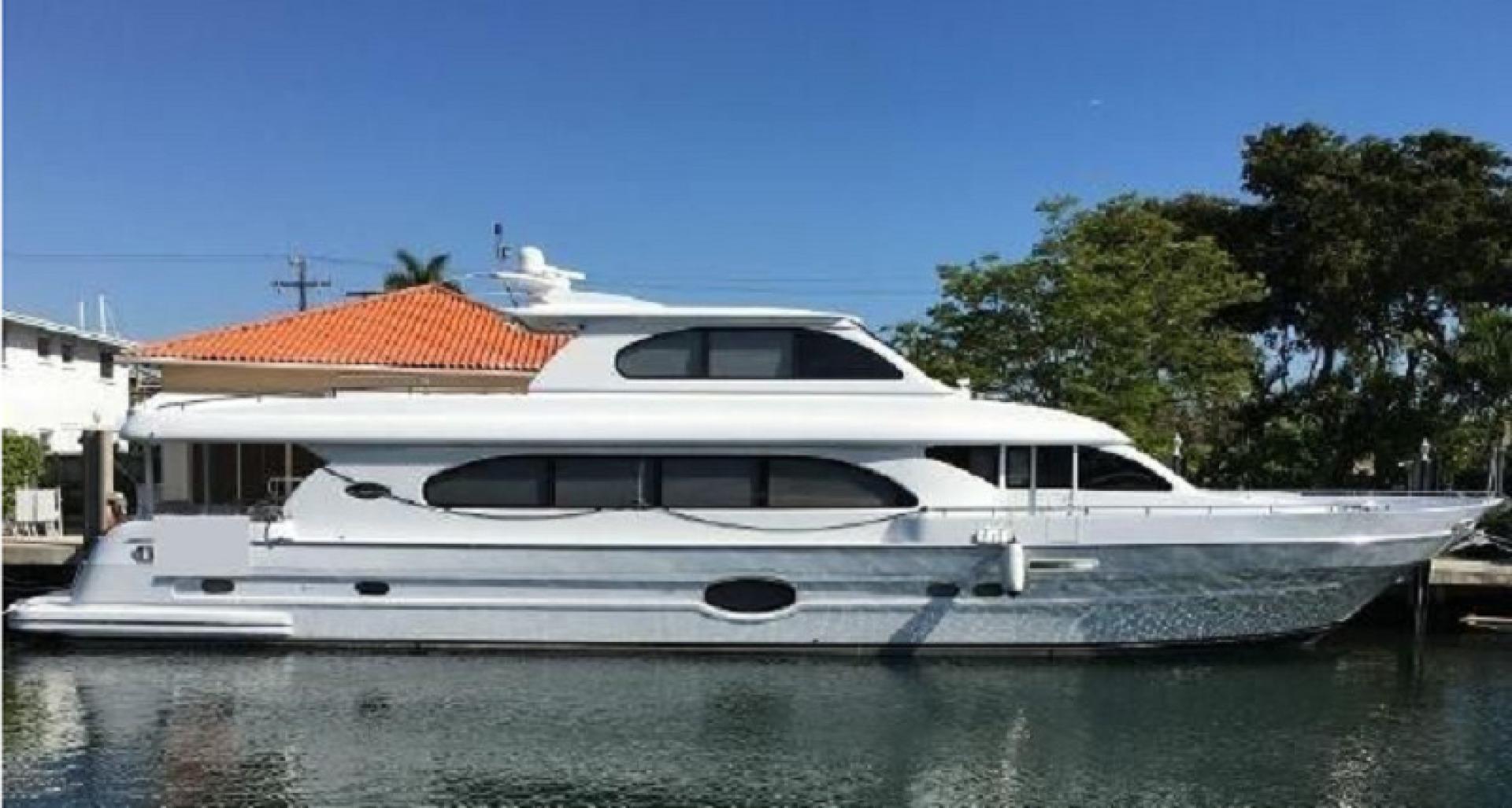 1990 Tarrab 91' Tri Deck Motor yacht