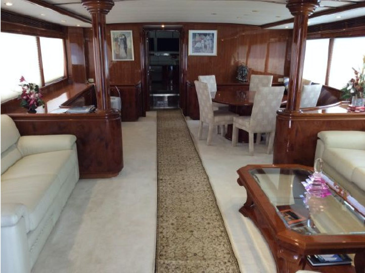 1990 Tarrab 91' Tri Deck Motor yacht  | Picture 5 of 11