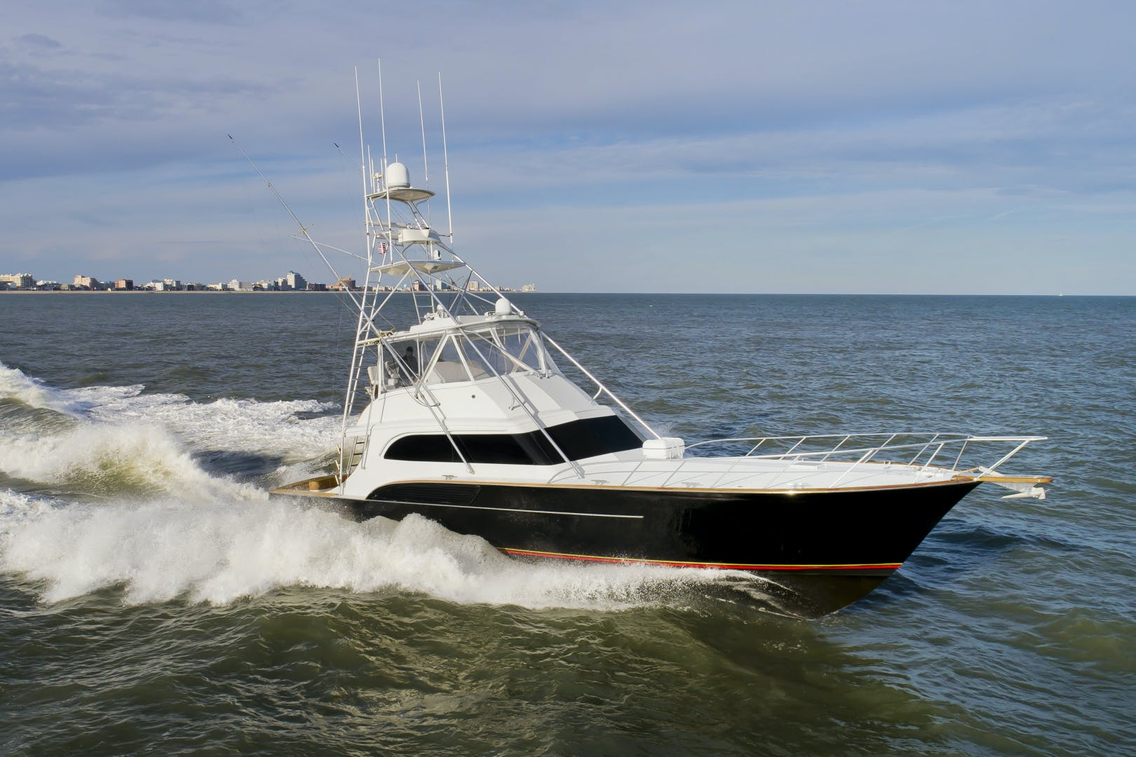 2001 Buddy Davis 61' 61 Convertible Black Tip | Picture 1 of 55