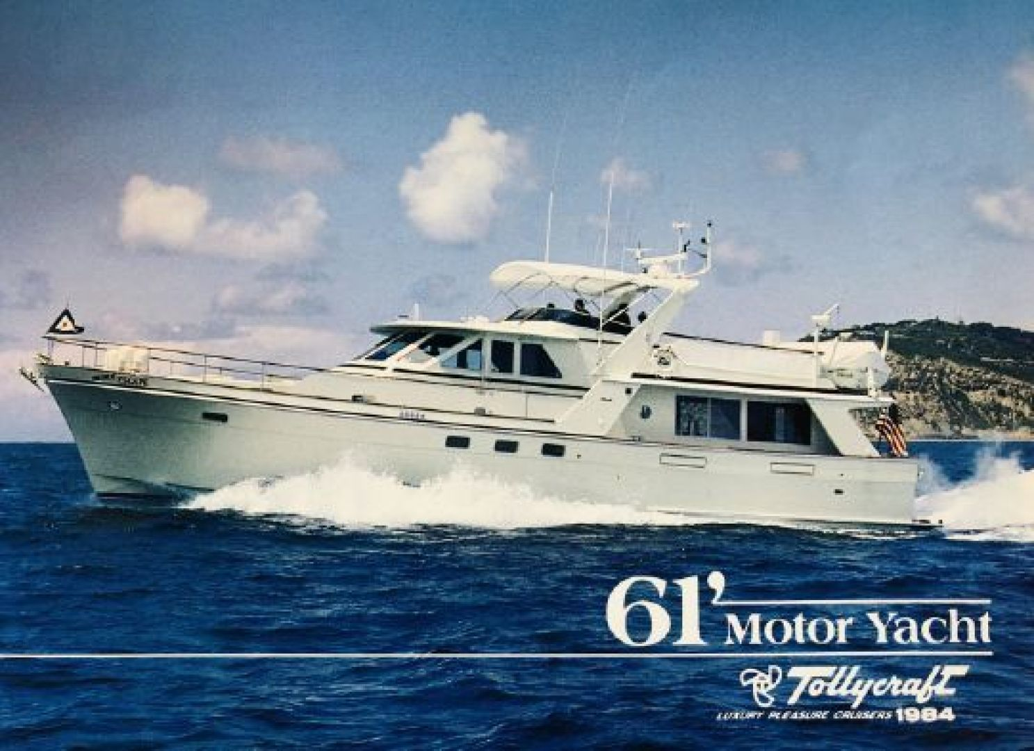 """1983 Tollycraft 61' 61 Motor Yacht """"The Great Escape"""""""