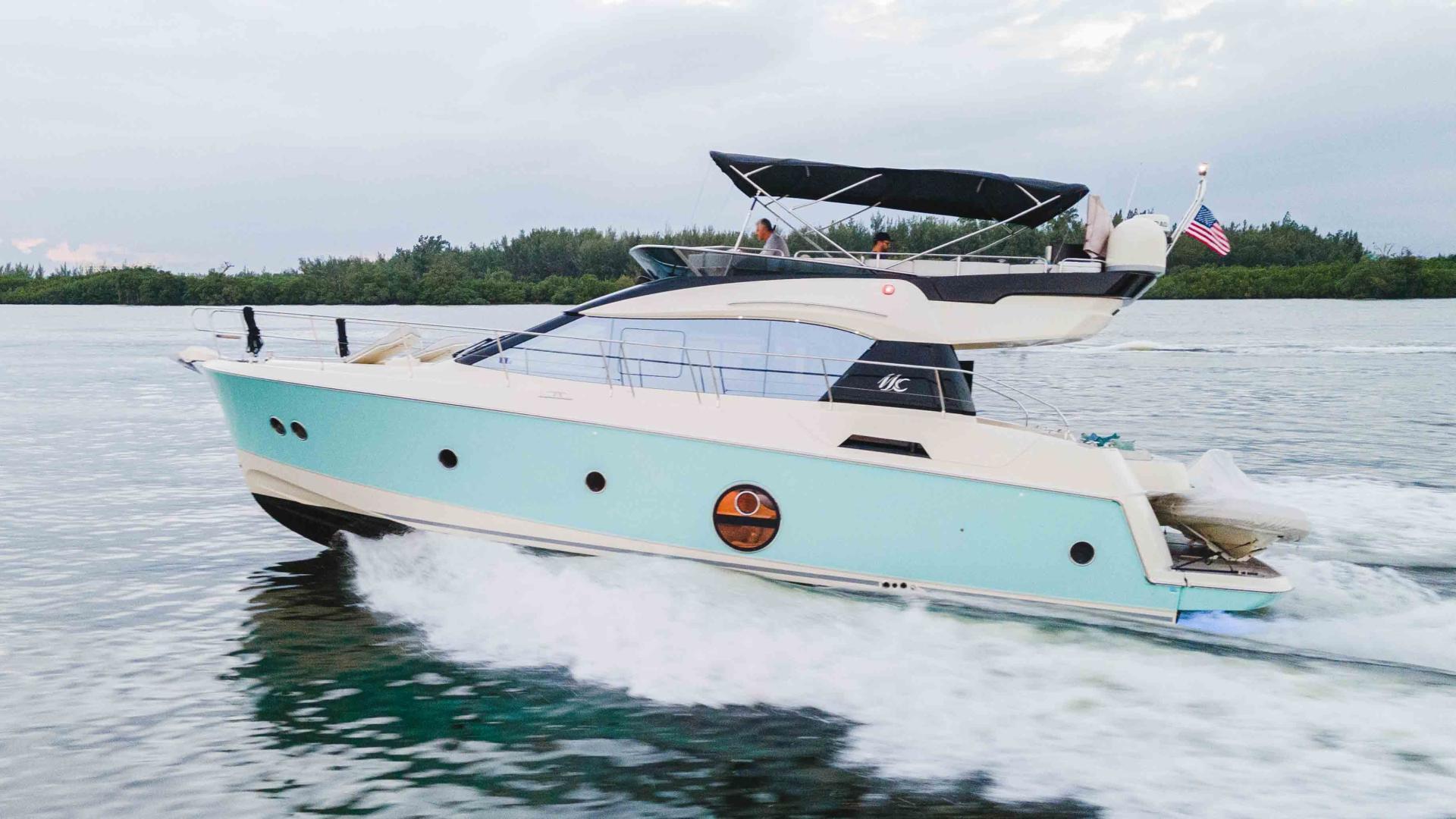 "2016 Monte Carlo Yachts 50'  ""AQUA"""