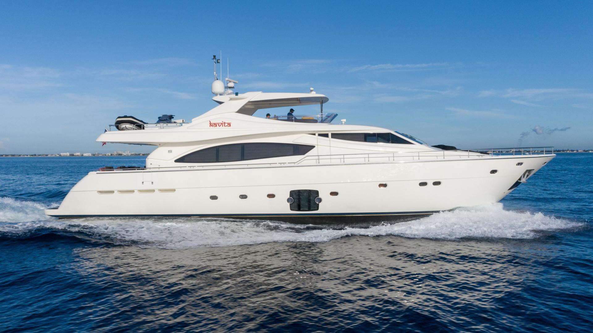 "2006 Ferretti Yachts 88'  ""KAVITA"""