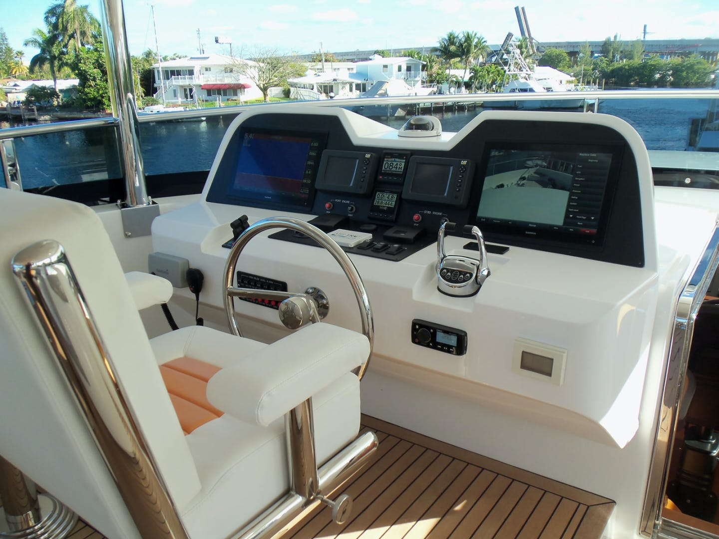 2022 Johnson 93' Flybridge w/Hydraulic Platform JOHNSON 93 OPEN FB | Picture 1 of 63