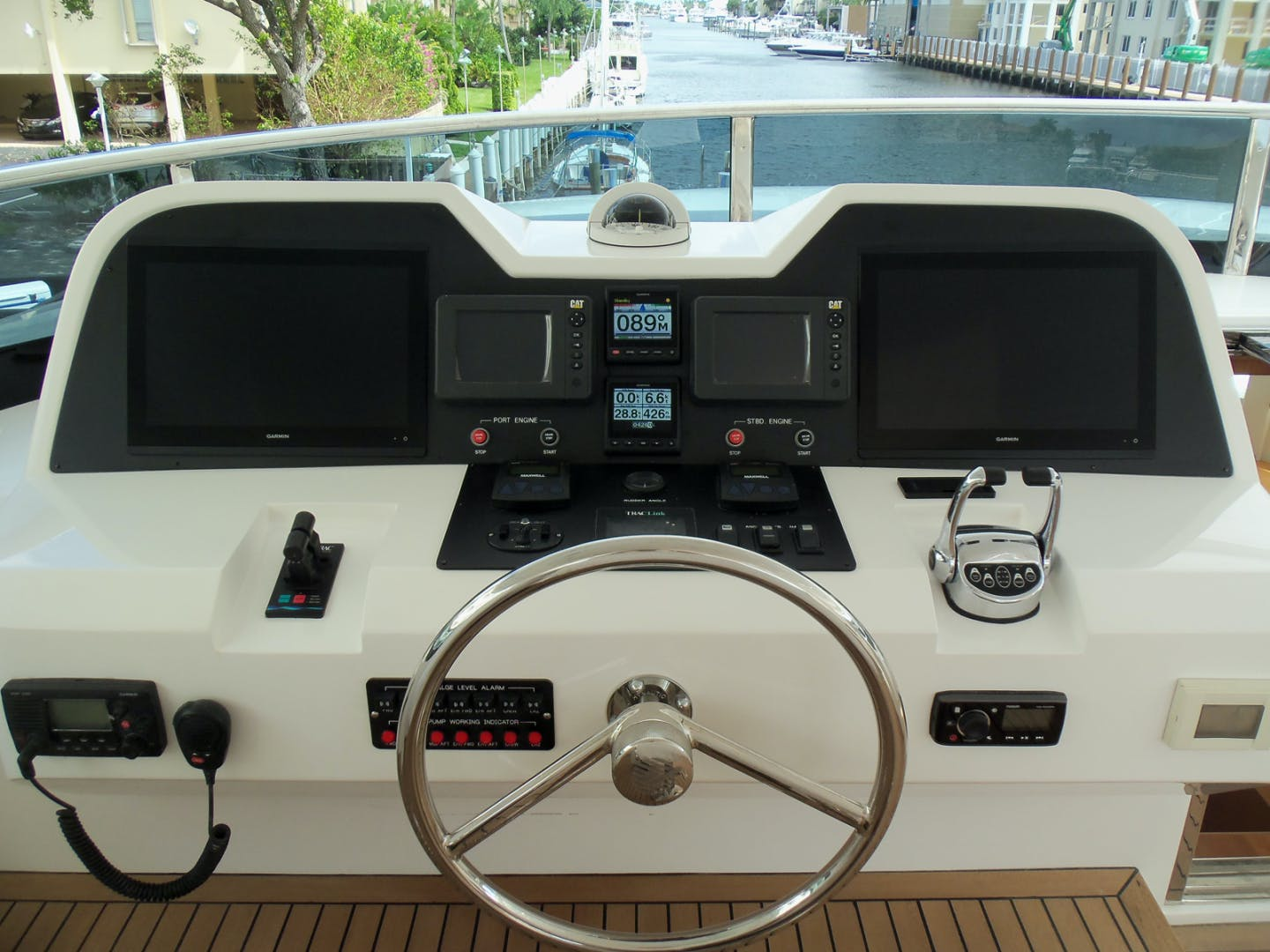 2022 Johnson 93' Flybridge w/Hydraulic Platform JOHNSON 93 OPEN FB | Picture 2 of 63