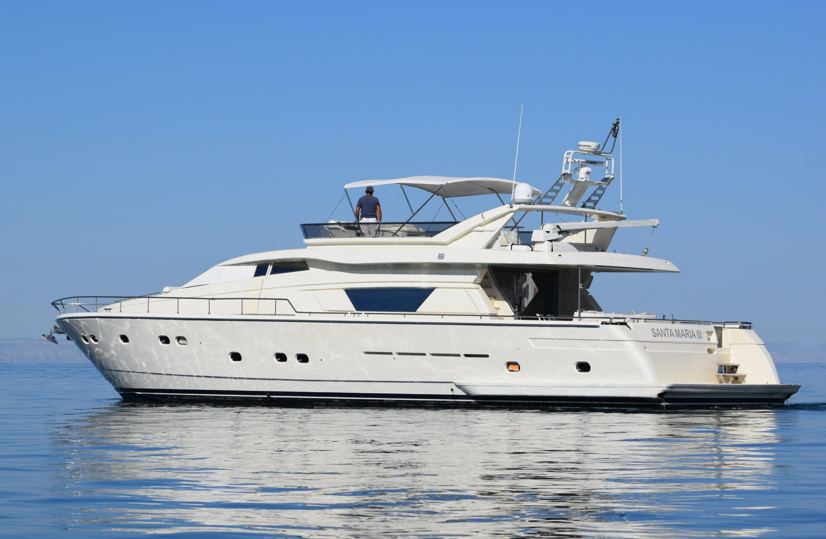 1997 Ferretti Yachts 80' 80  | Picture 3 of 36