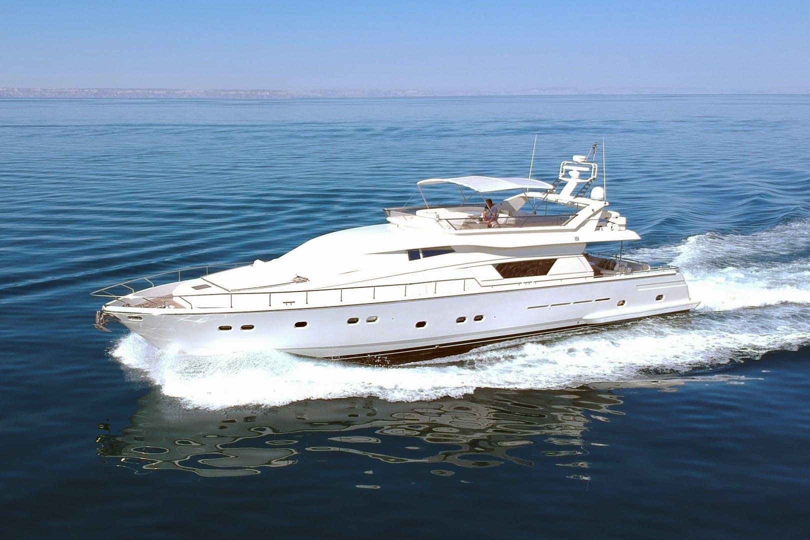 1997 Ferretti Yachts 80' 80    Picture 2 of 36