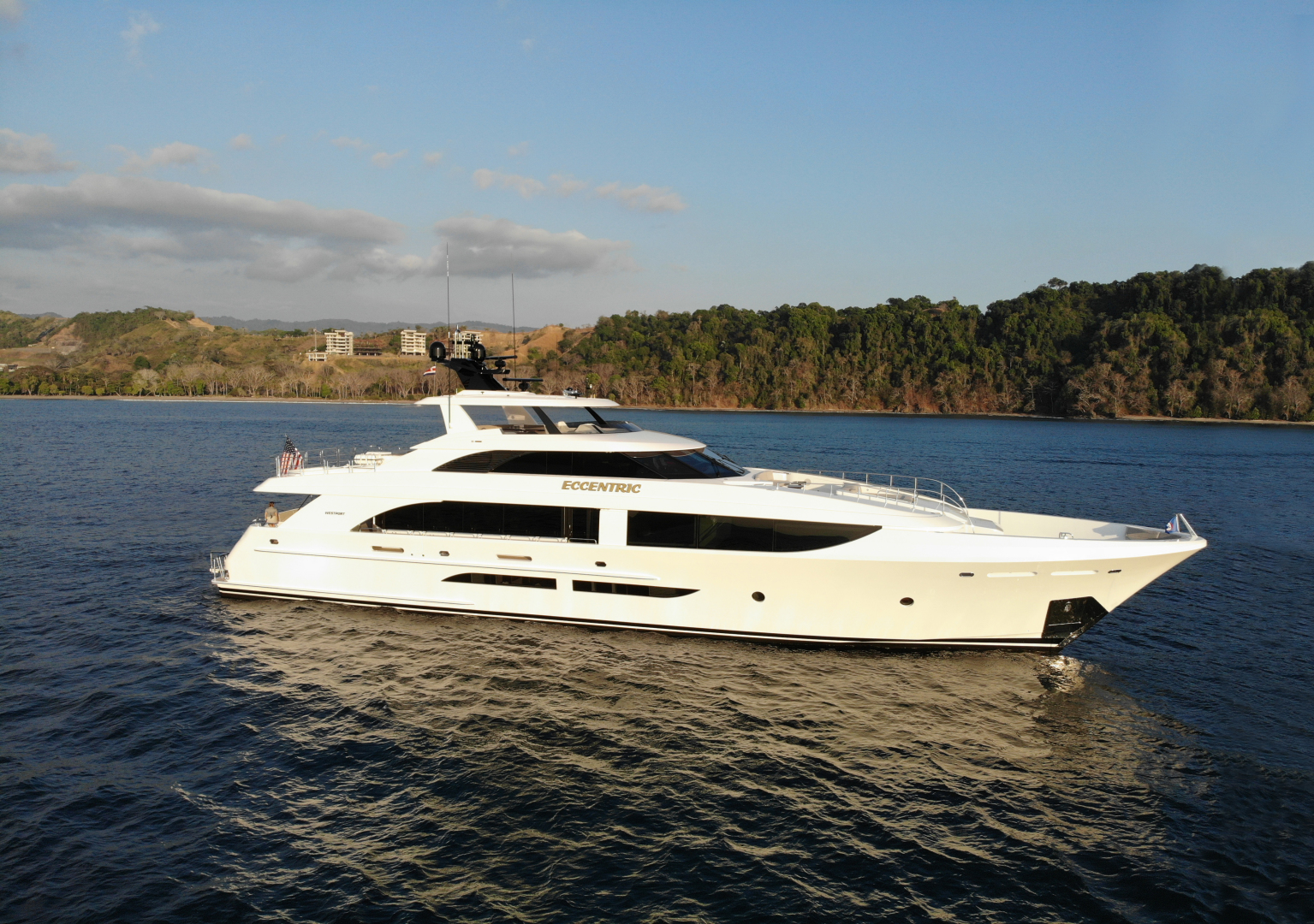 125' Westport 2018 Raised Pilothouse ECCENTRIC
