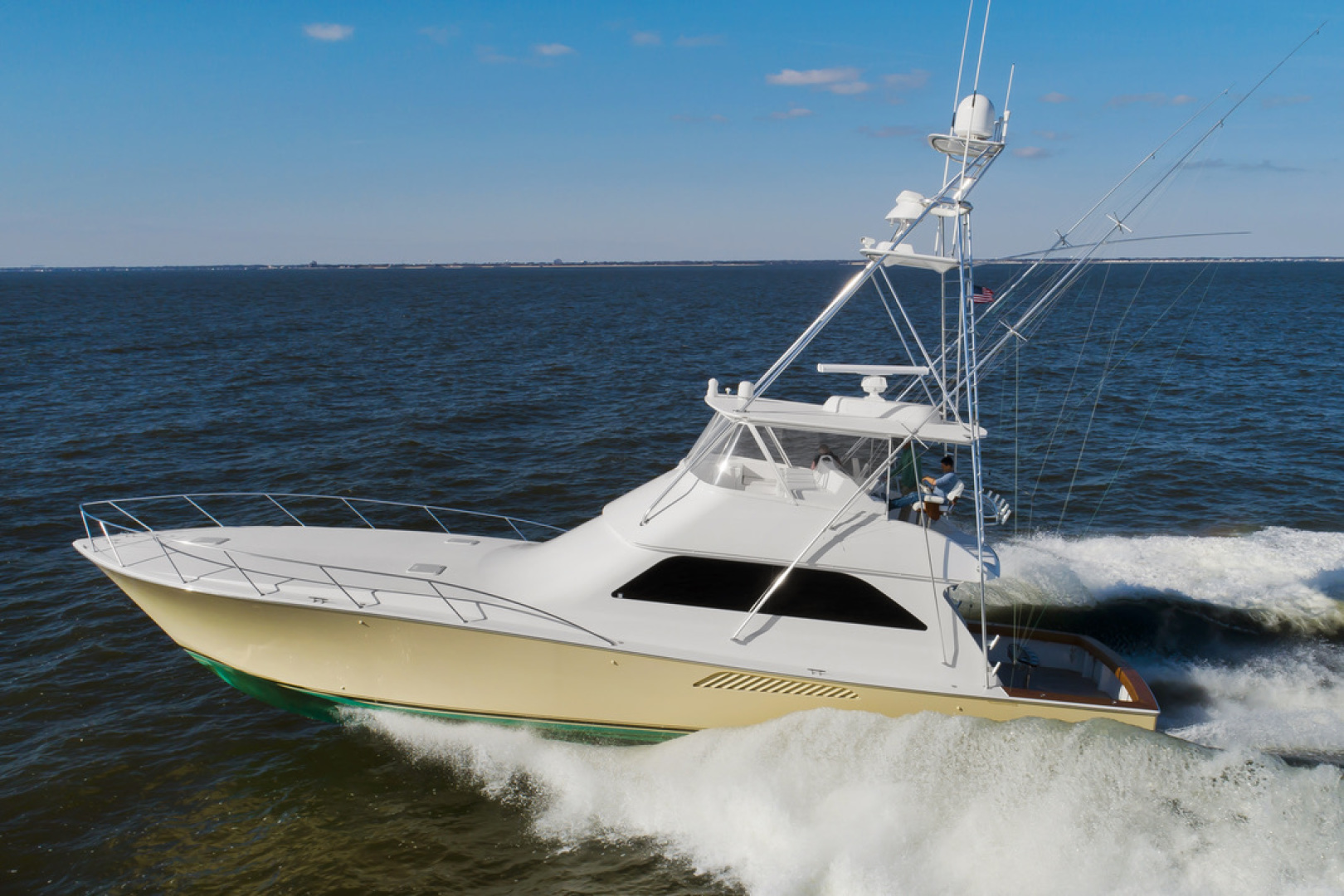"2005 Viking 61' 61Convertible ""Timeless"""