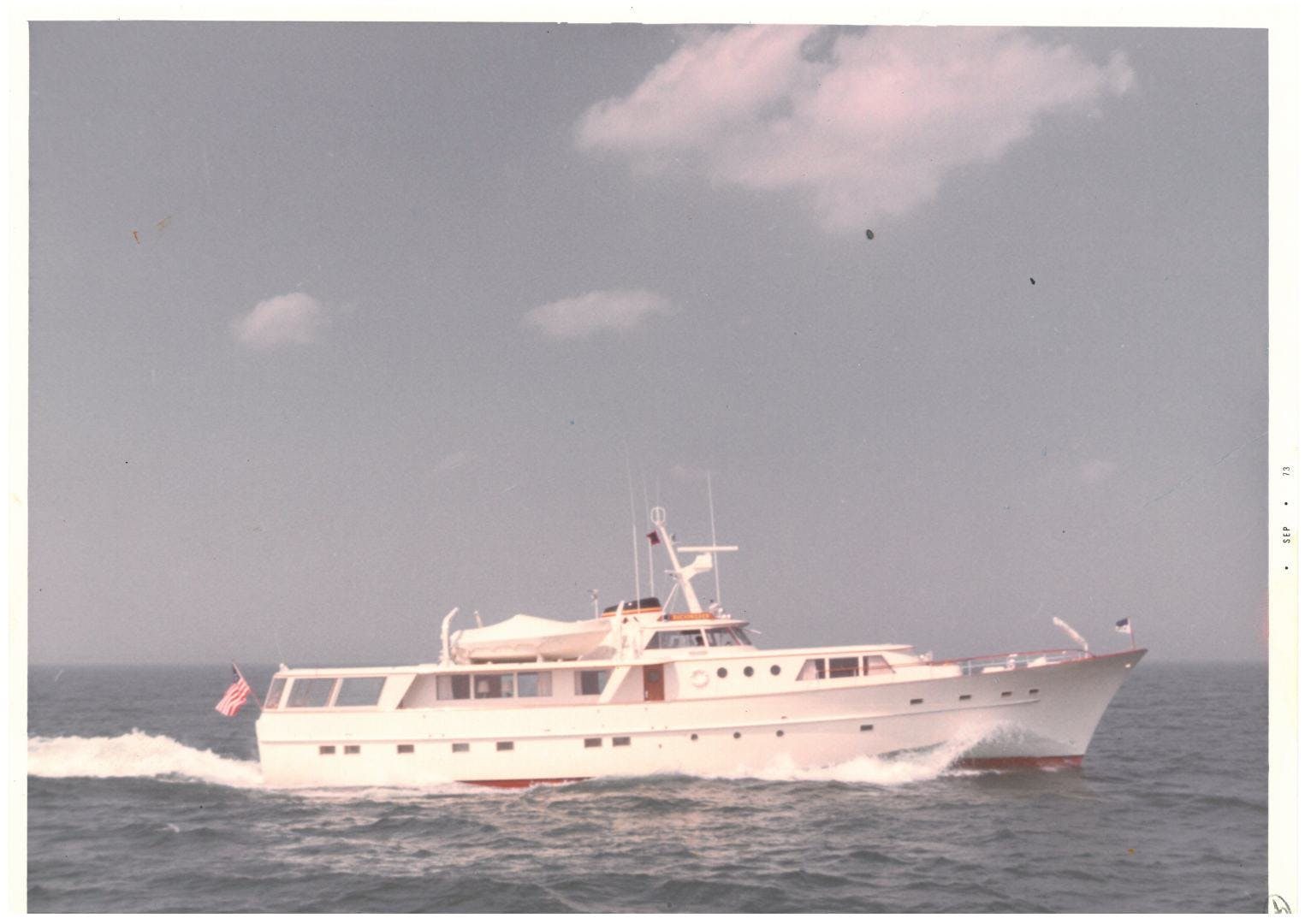 1973 Burger 108' Pilothouse Motor Yacht CHANTICLEER | Picture 3 of 60