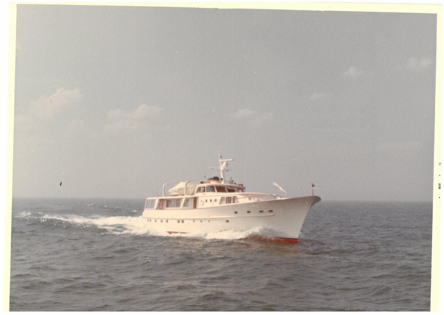 1973 Burger 108' Pilothouse Motor Yacht CHANTICLEER | Picture 2 of 60