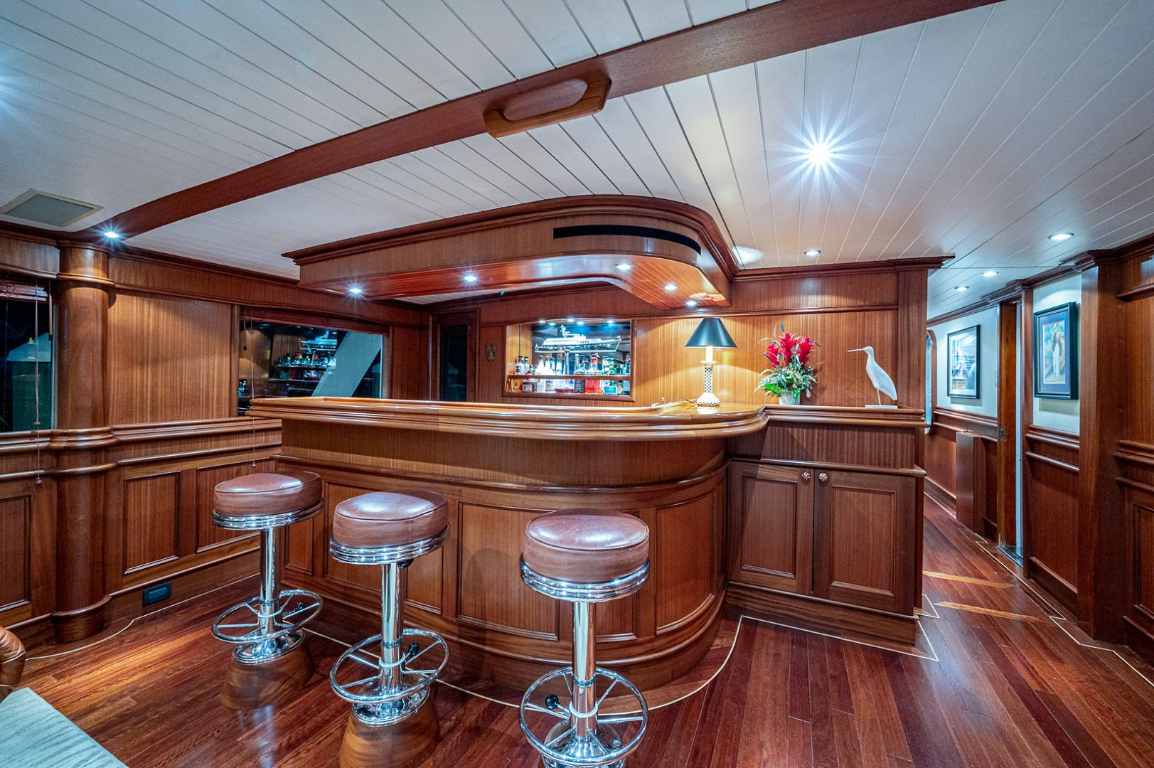 1973 Burger 108' Pilothouse Motor Yacht CHANTICLEER | Picture 8 of 60