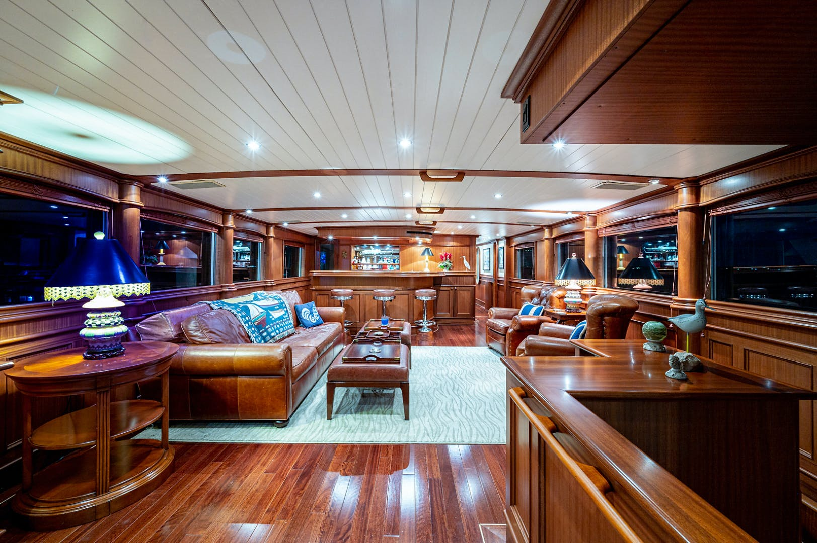 1973 Burger 108' Pilothouse Motor Yacht CHANTICLEER | Picture 4 of 60