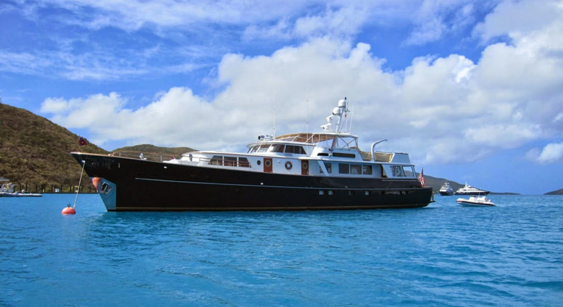 1973 Burger 108' Pilothouse Motor Yacht CHANTICLEER | Picture 1 of 60