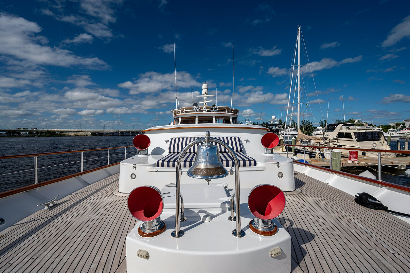1973 Burger 108' Pilothouse Motor Yacht CHANTICLEER | Picture 7 of 60