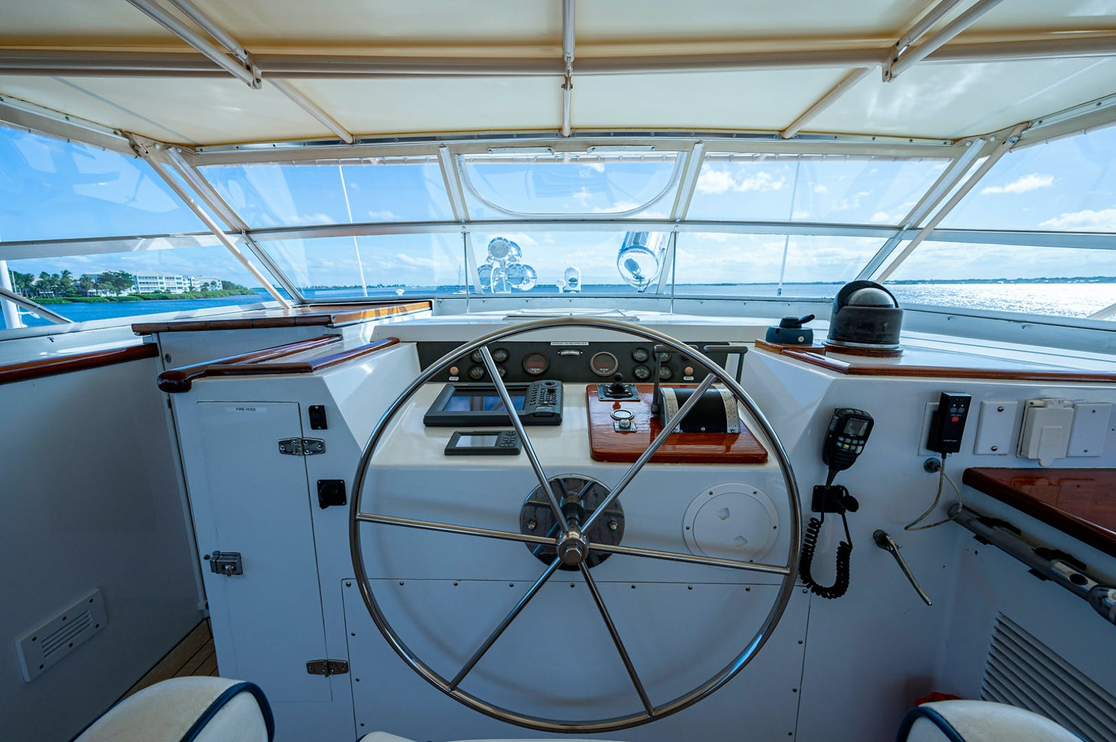 1973 Burger 108' Pilothouse Motor Yacht CHANTICLEER | Picture 5 of 60