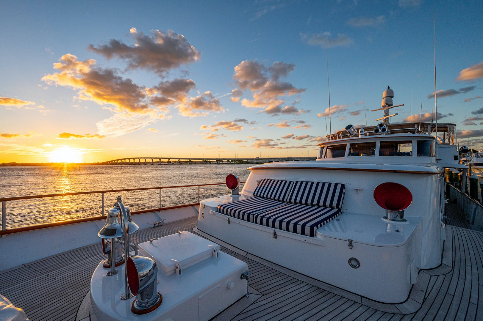 1973 Burger 108' Pilothouse Motor Yacht CHANTICLEER | Picture 6 of 60