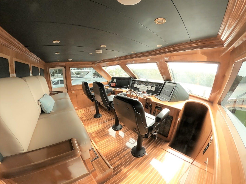 2001 Hargrave 109' Tri Deck SeaStar   Picture 4 of 46