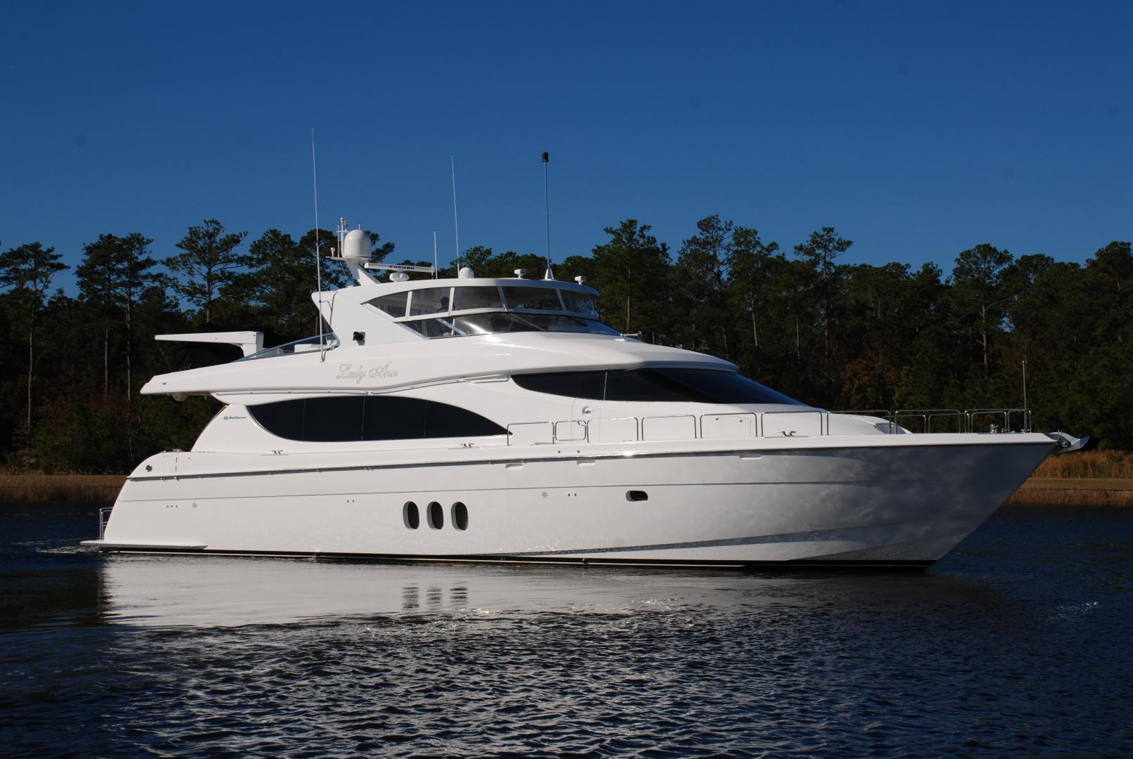 "2007 Hatteras 80' Motor Yacht ""LADY ANN"""