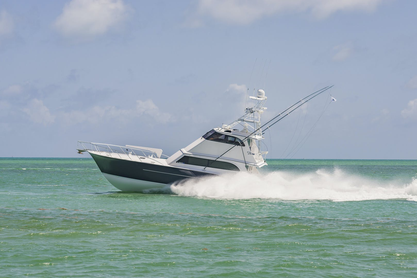 2001 Buddy Davis 61' 61 Sportfish Enclosed Pilothouse Don Don  | Picture 8 of 45