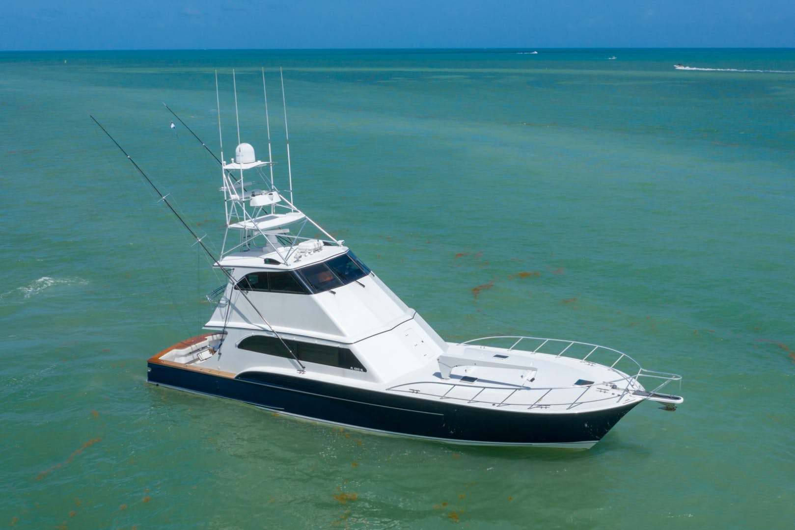 2001 Buddy Davis 61' 61 Sportfish Enclosed Pilothouse Don Don  | Picture 6 of 45