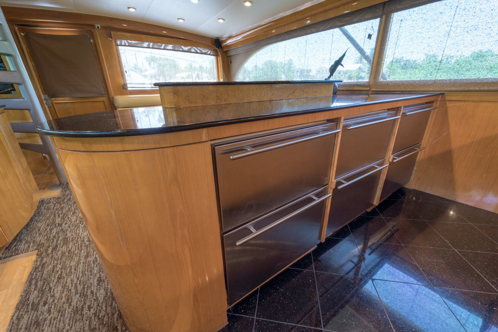 2001 Buddy Davis 61' 61 Sportfish Enclosed Pilothouse Don Don  | Picture 4 of 45