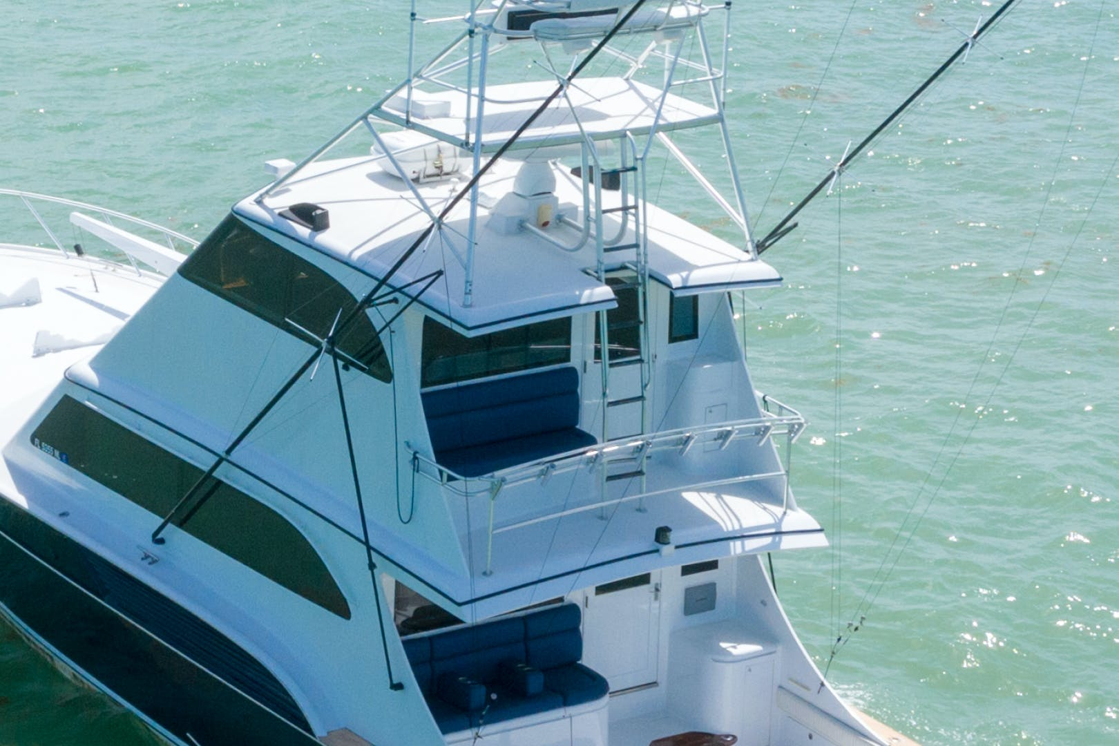 2001 Buddy Davis 61' 61 Sportfish Enclosed Pilothouse Don Don  | Picture 3 of 45